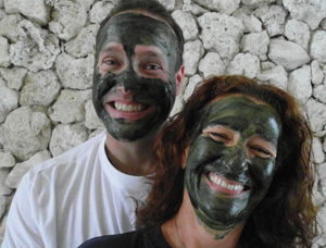 Sean and Jody Wheatgrass Mask